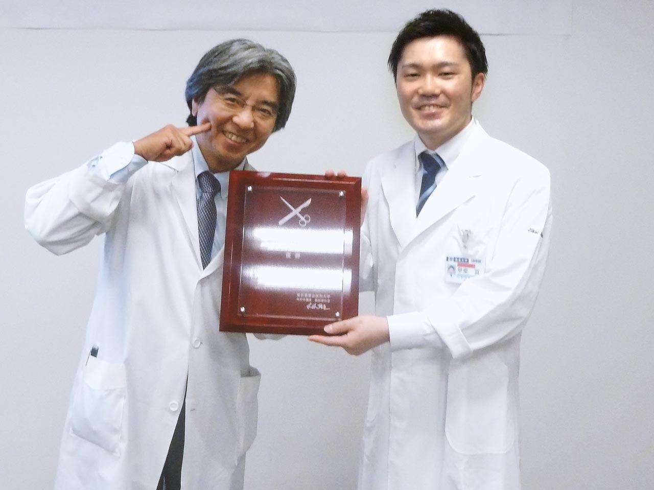 優勝:甲斐亘先生(国立西埼玉中央病院)
